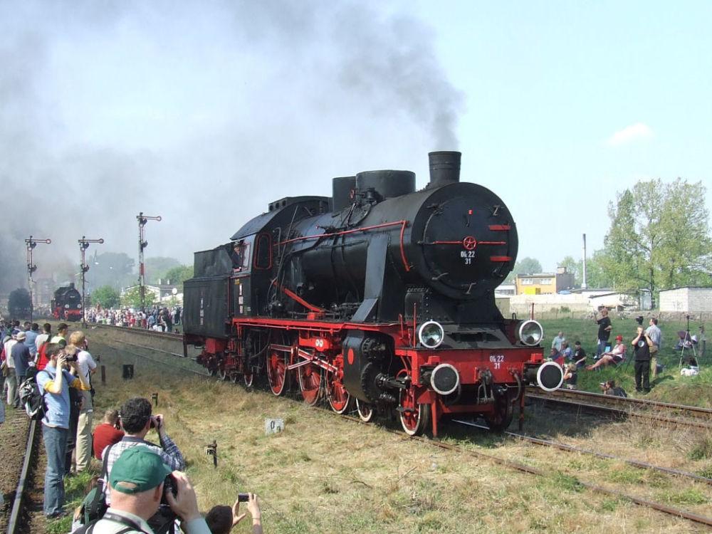 Una locomotiva polacca Ok22-31.