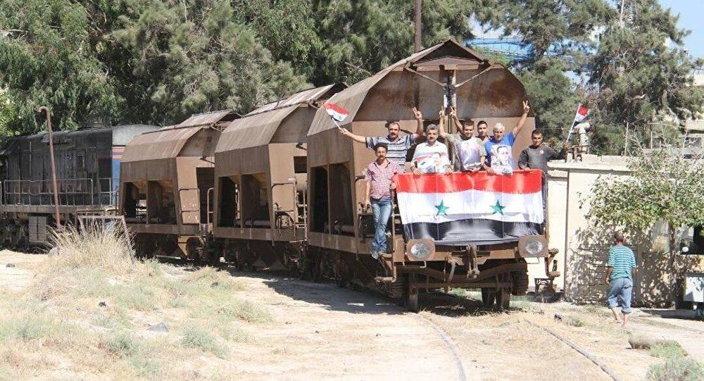 Treno in Siria