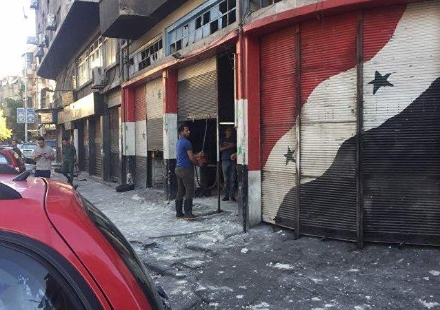 Esplosione a Damasco