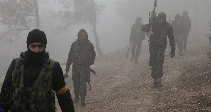 Paramilitari filo-turchi sul fronte di Afrin