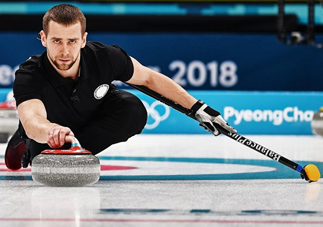 L'atleta russo Alexander Krushelnitsky