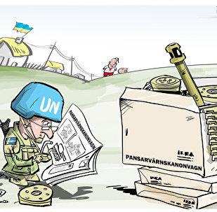 Svezia pronta ad inviare truppe in Donbass