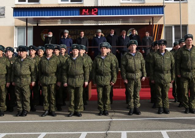 Unità medica dell'esercito russo ad Anapa (foto d'archivio)