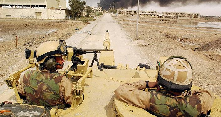 Basra, Iraq del Sud, 2003