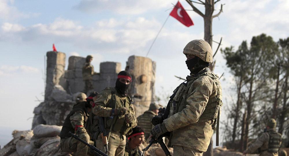 Soldati turchi ad Afrin