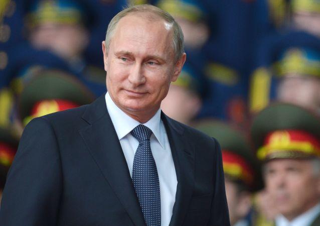 Presidente Putin allinaugurazione del Forum internazionale Esercito-2015