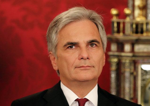 Werner Faymann, cancelliere austriaco