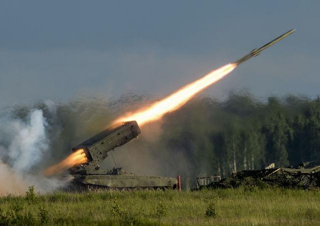 Lancio di un missile contraereo