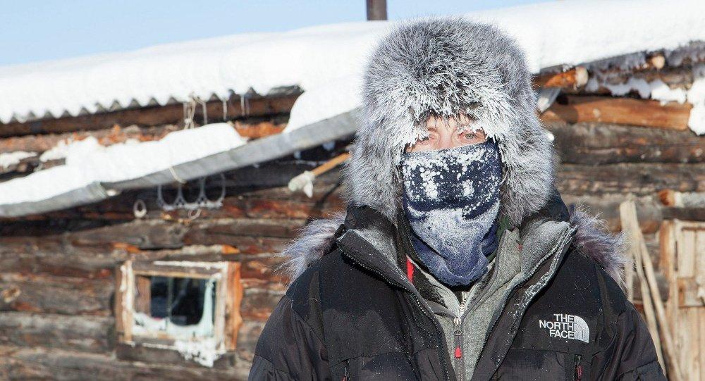 Village of Oymyakon in Russia