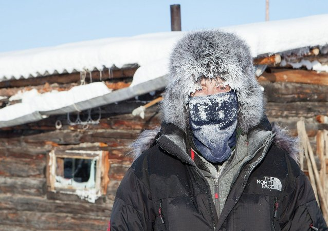 Village of Oymyakon in Russia
