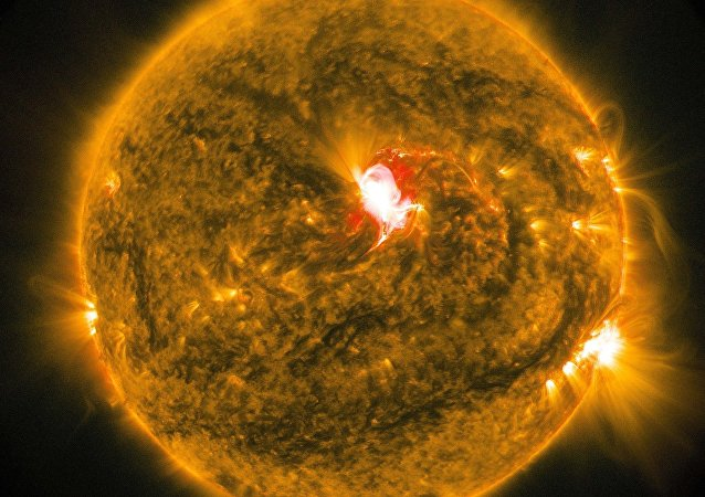 Flashes on the Sun. (File)