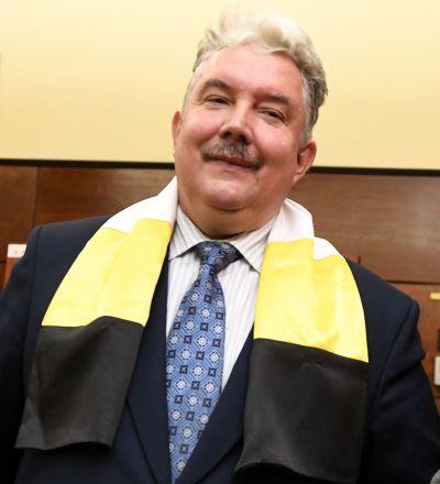 Candidato alla presidenza Sergey Baburinil, leader del partito politico nazional-conservatore Unione panrussa