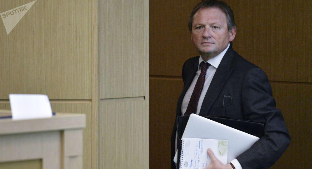 Il candidato alla presidenza Boris Titov, leader del Partito della Crescita