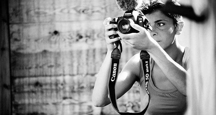 La film maker Roberta Zanzarelli