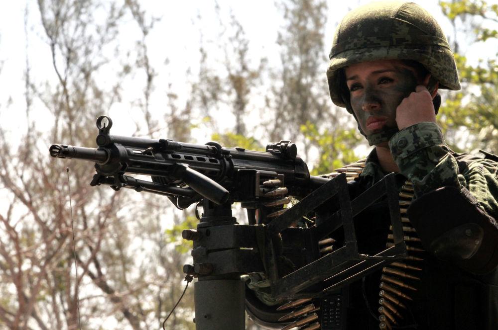 L'esercito messicano.