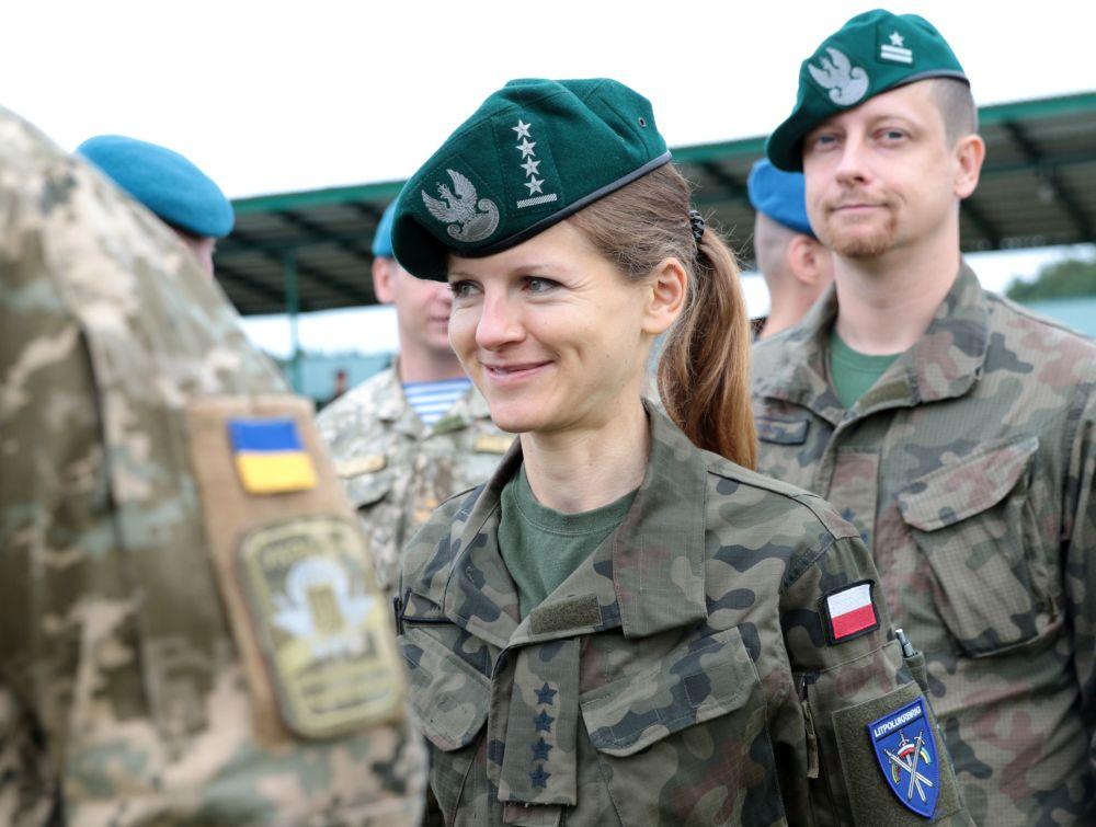 Il personale militare polacco.
