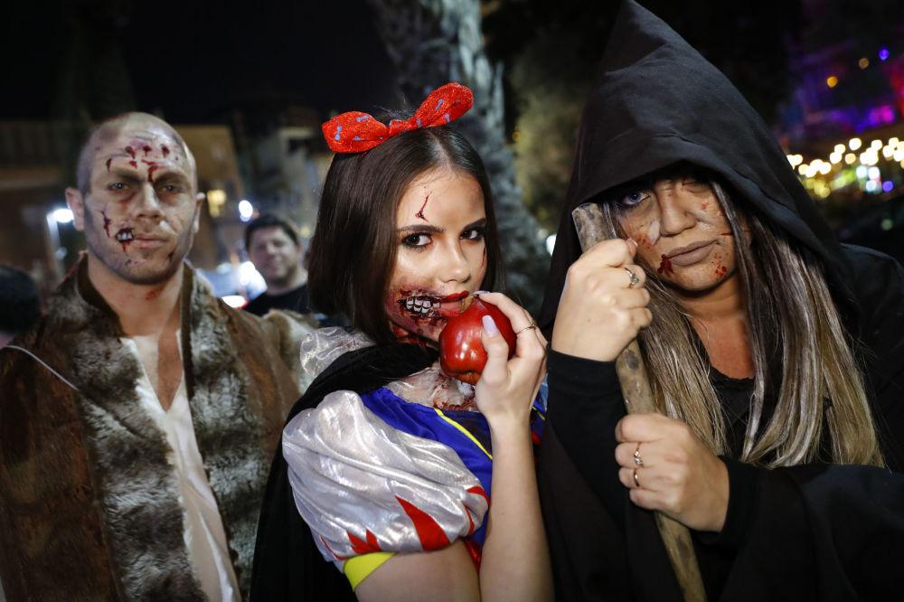 Una parata degli zombi a Tel Aviv