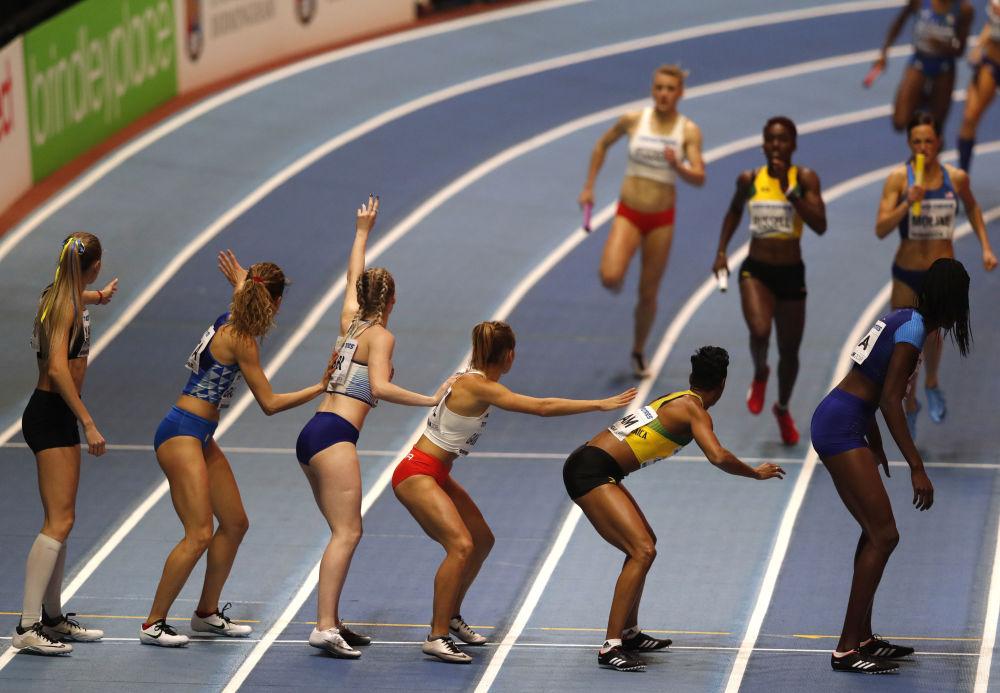 Campionato del mondo dell'atletica leggera a Birmingham.