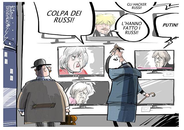 Theresa May accusa la Russia dell'avvelenamento di Skripal