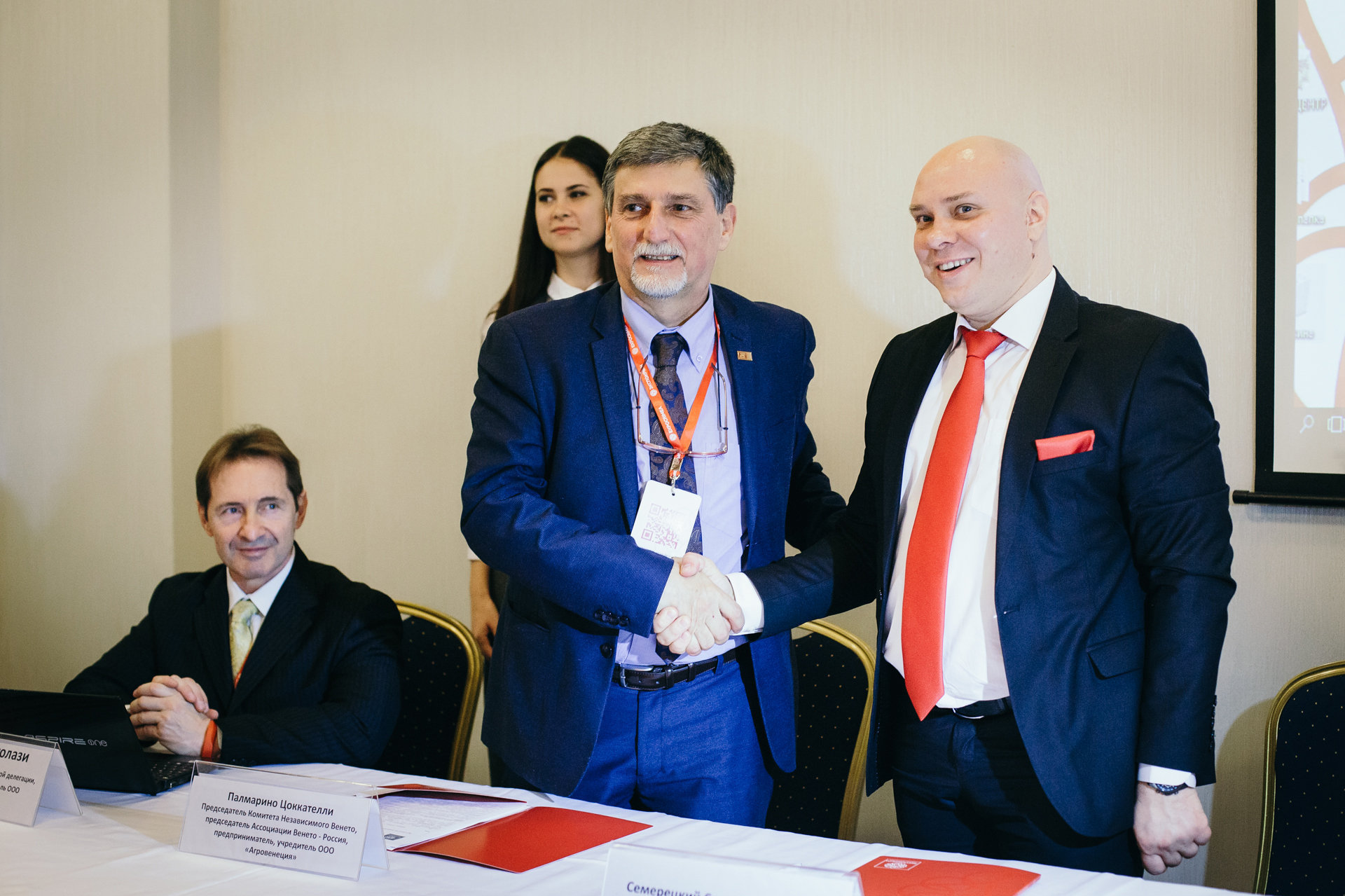 Palmarino Zoccatelli, Sergej Semeretskij