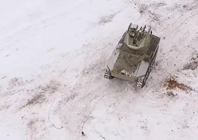 Test dei robot moderni russi