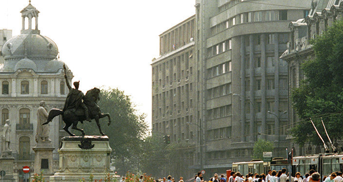 Parlamento della Romania a Bucarest