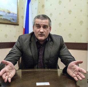 Capo della Crimea Sergey Aksenov