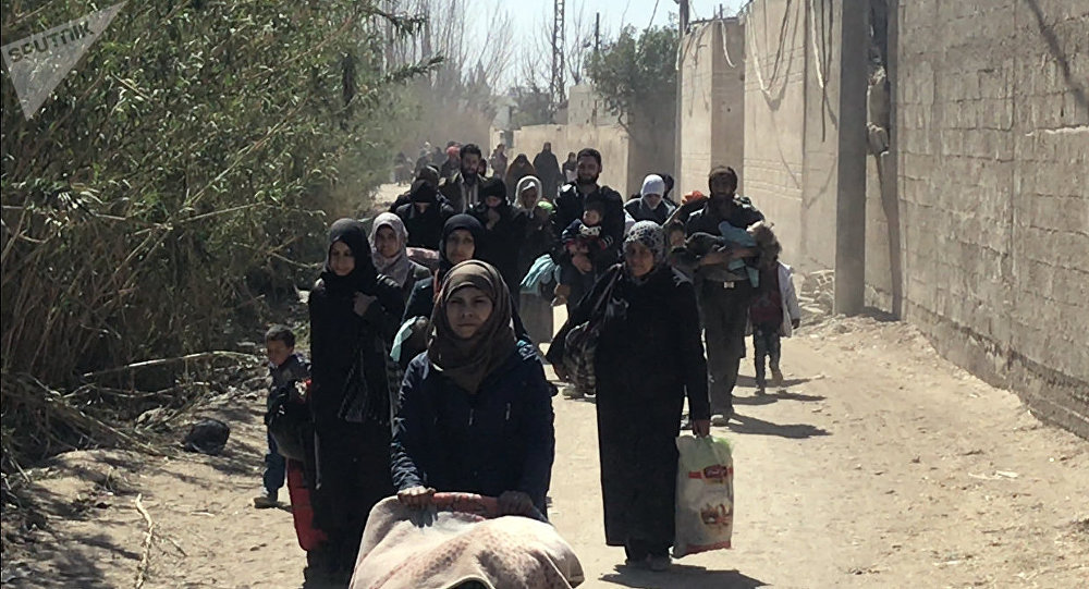 Sfollati di Ghouta est