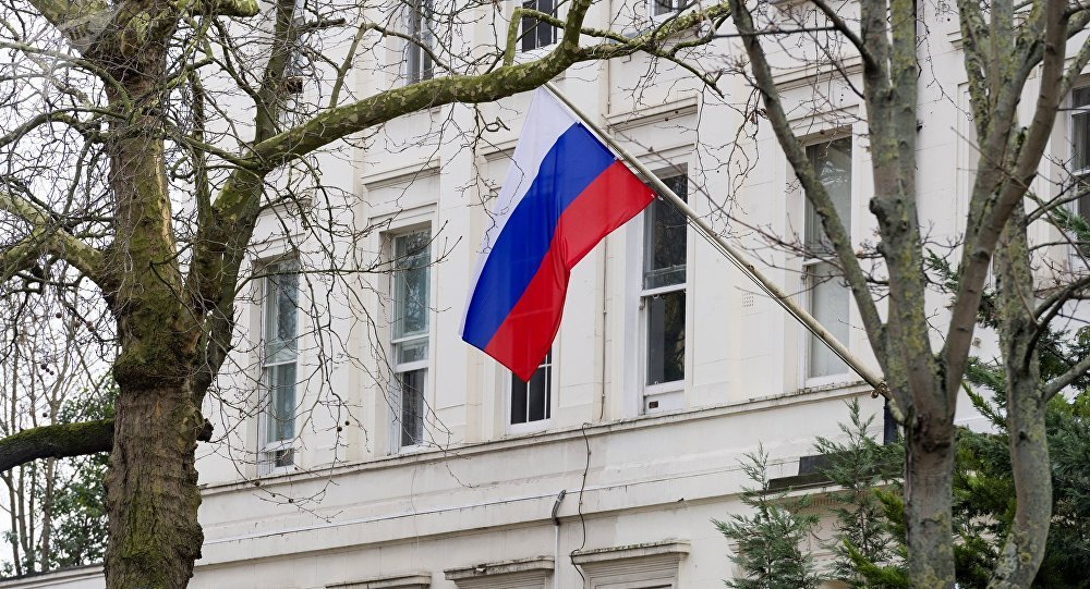 L'ambasciata russa nel Regno Unito