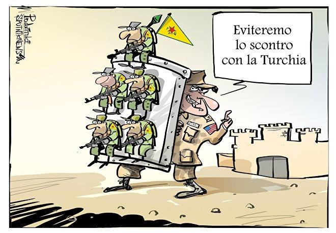 Gli USA prendono misure per rafforzare la prevenzione dei conflitti con la Turchia in Siria.