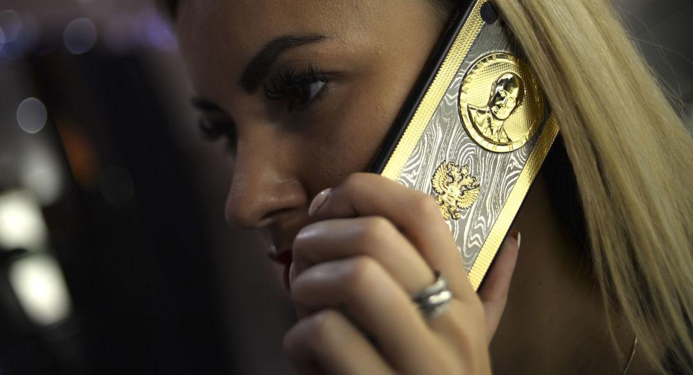 iPhone d'oro dedicato a Putin
