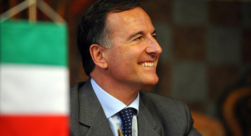 Franco Frattini. Foto fornita dall'Ufficio stampa SIOI