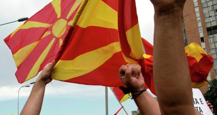Proteste in Macedonia