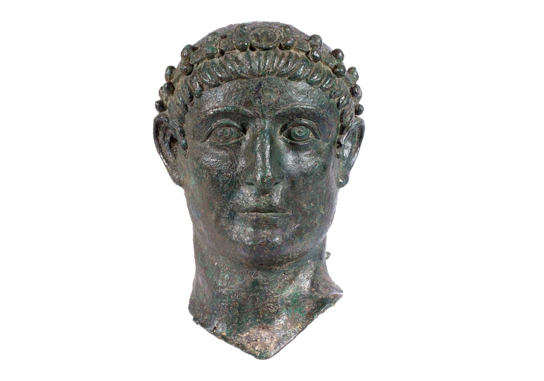 Testa dell'Imperatore Costantino il Grande