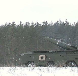 Le esercitazioni del nucleo NBCR dell'esercito russo