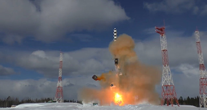 I test del missile intercontinentale russo Sarmat