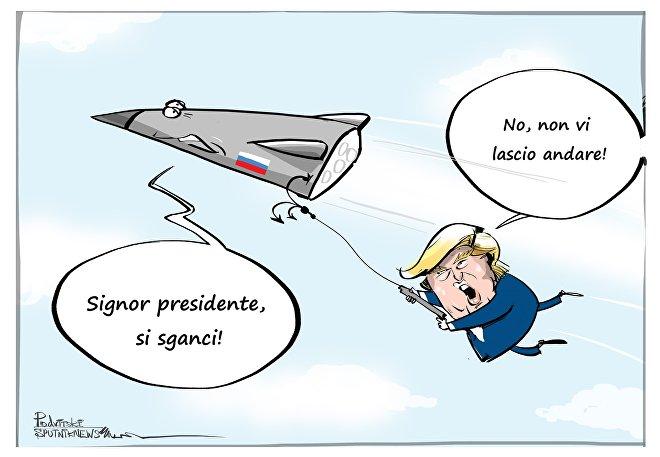 Trump a Putin: gli USA trionferanno nella nuova corsa agli armamenti