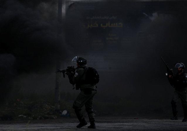 Il confine tra Israele e Palestina