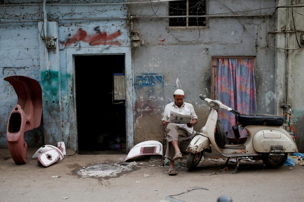La Vespa in Pakistan