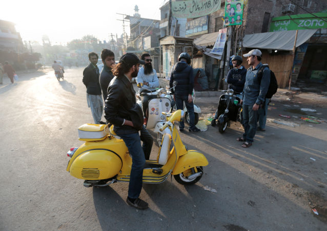 La Vespa in Pakistan