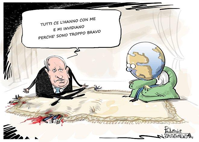 """Netanyahu risponde ad accuse di Erdogan di condurre """"politica del terrore"""""""