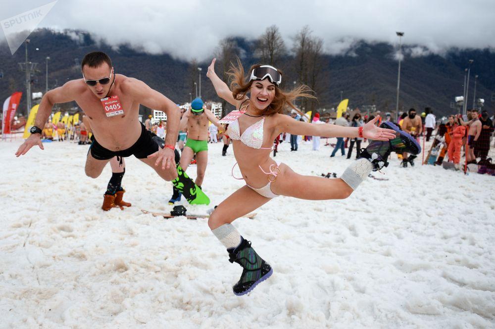 Dalle piste alle spiagge, tutti in bikini a Sochi