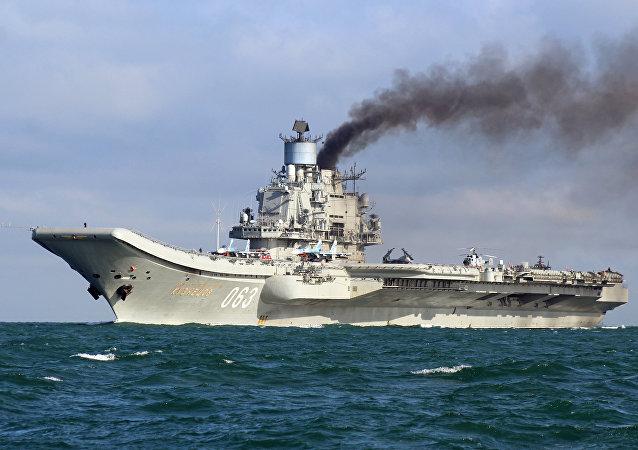 Portaerei Admiral Kuznetsov