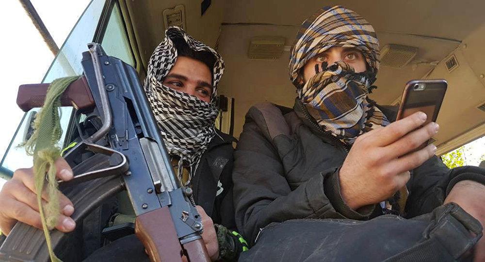 Ribelli islamisti a Douma