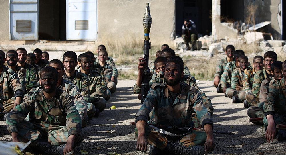 Combattenti di Jaish al-Islam