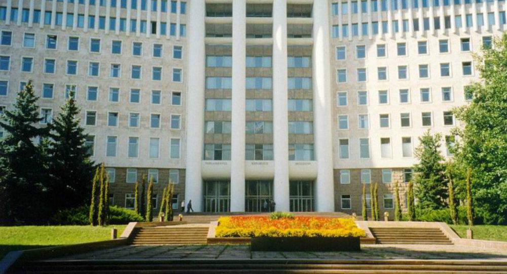 Il parlamento della Moldavia