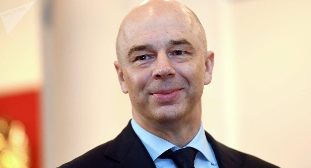 Il Ministro delle Finanze Anton Siluanov