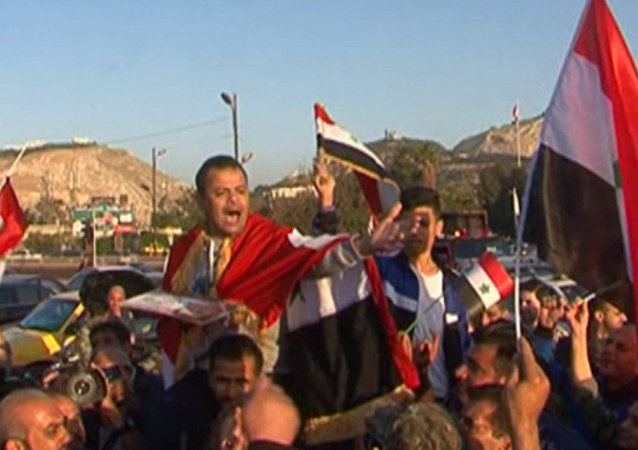 La reazione degli abitanti di Damasco all'attacco