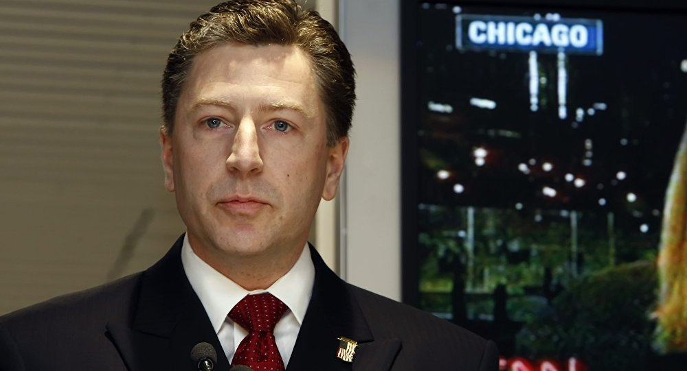 L'inviato speciale USA per l'Ucraina, Kurt Volker