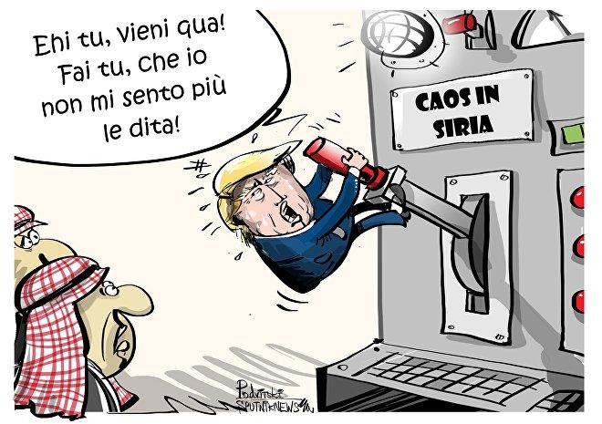 Donald Trump prevede di sostituire il contingente USA in Siria con truppe provenienti da paesi arabi.